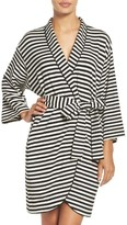 Kate Spade Women's Screenprint French Terry Robe