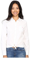 U.S. Polo Assn. Solid Single Pocket Long Sleeve Shirt