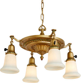 Rejuvenation Classical Revival 4-Light Chandelier