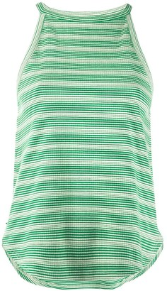 YMC Striped Cotton Tank Top
