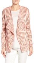 Nic+Zoe Women's Diamond Knit Cardigan