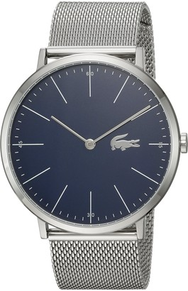 Lacoste Men's Moon Quartz Watch with Stainless-Steel Strap