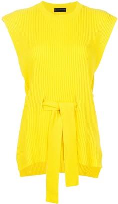 Cashmere In Love cashmere Jaqueline open side vest