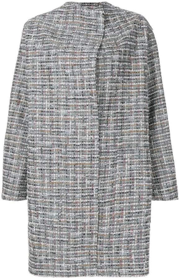 Antonio Marras embroidered cocoon coat