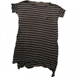 Alexander Wang Grey Cotton Dress for Women