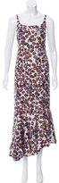 Derek Lam 2016 Abstract Printed Maxi Dress