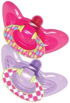 The First Years GumDrop Pacifier - Pink/Purple - 6 - 18 Months