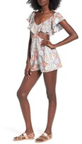 Somedays Lovin Women's Light The Stars Cut-Out Romper