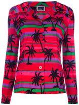 Vintage Palm tree print jacket