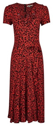 Dorothy Perkins Womens **Billie & Blossom Red Leopard Print Dress, Red