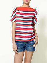 Jacobson Stripe Silk Top