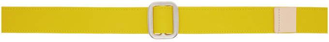 Acne Studios Yellow Bla Konst Tryal Belt