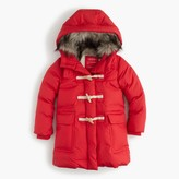 J.Crew Girls' toggle puffer coat