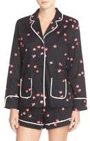 Kate Spade Women's Print Cotton Sateen Short Pajamas