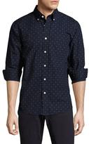 Jack Spade Palmer Diamond Dot Print Sportshirt