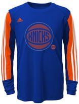adidas Boys 8-20 New York Knicks Prestige climalite Tee