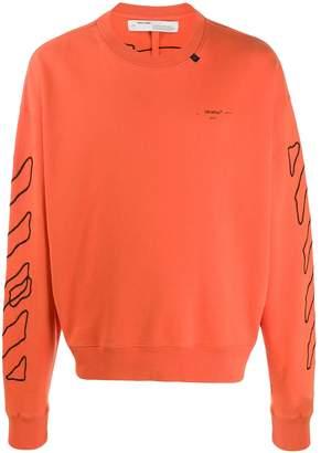 Off-White scribble Arrows sweatshirt