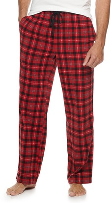 Croft & Barrow Men's Patterned Microfleece Sleep Pants