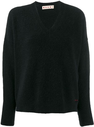 Marni Textured Knit Jumper