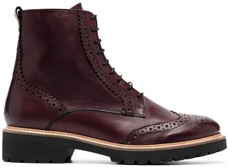 Carvela Snail lace-up boots