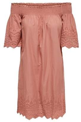 Dorothy Perkins Womens **Only Pink Off Shoulder Dress, Pink