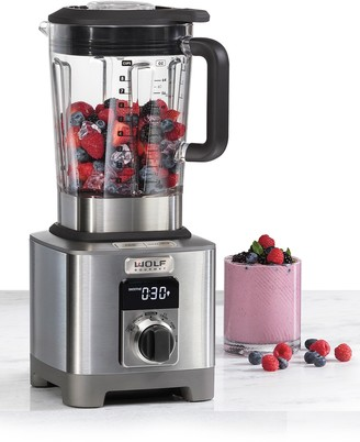 Wolf Gourmet High-Performance Blender with Black Knobs