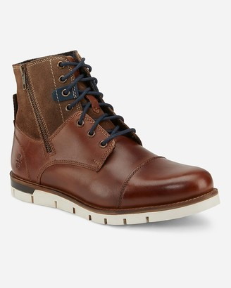 Express Reserved Footwear Tan Rossmore Boots