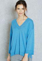 MANGO Essential Oversized Sweater