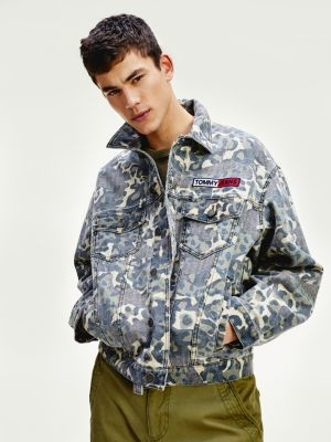 Tommy Hilfiger Tommy Badge Camouflage Trucker Jacket