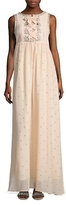 Manoush Oeillet Embellished Gown