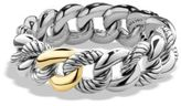 David Yurman Belmont Curb Link Bracelet with Gold