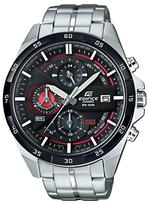 Casio Efr-556db-1avuef Edifice Chronograph Bracelet Strap Watch, Silver/black