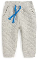 Hatley Infant Boy's Quilted Athletic Jogger Pants