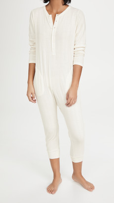 The Great The Pointelle Sleeper Jumpsuit