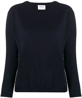 Snobby Sheep Stripe-Detail Raglan-Sleeves Pullover