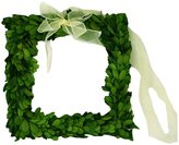 """Mills Floral Company Boxwood Square Wreath with Ribbon - 8"""""""