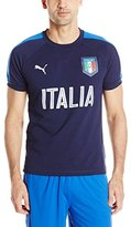 Puma Men's Figc Italia Casual Performance T-Shirt