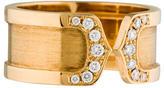 Cartier C de Wide Logo Band