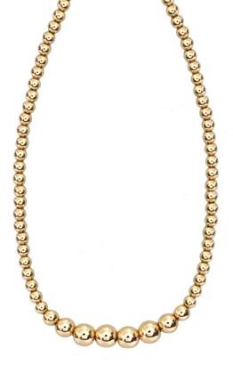 Jane Basch Designs Jane Basch Graduated Bead Necklace