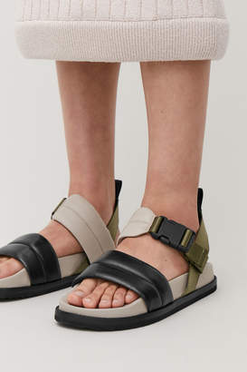 Cos PADDED LEATHER SANDALS