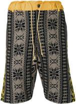 Sacai fine knit shorts