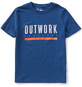 Under Armour Big Boys 8-20 Outwork Everyone Short-Sleeve Tee