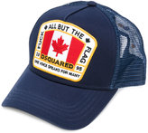 DSQUARED2 branded cap - men - Cotton/Polyester - One Size