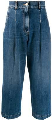 Pinko cropped straight-leg jeans