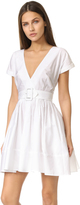 Nicholas N Wrap Front Mini Dress