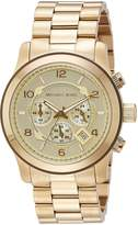Michael Kors Men's MK8077 Runway -Tone Watch
