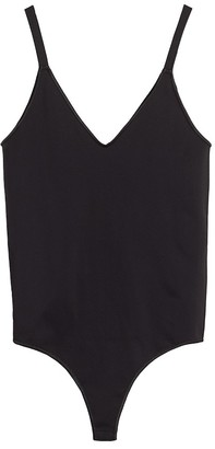 Cuyana Seamless Cross Back Tank Bodysuit