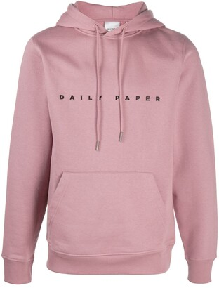Daily Paper Logo-Embroidered Hooded Sweatshirt