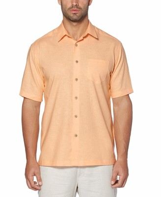 Cubavera Short Sleeve Solid Shirt