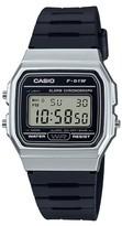 Casio Men's F91WM-7A Digital Watch - Black and Silver